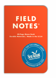 Orange Field Notes® waterproof expedition notebook free with subscrition